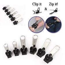 Wholesale 6Pcs Fix A Zipper Zip Slider Rescue Instant Repair Kit Replacement