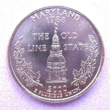 """B/UNCIRCULATED   US  STATE QUARTER   2000    """"MARYLAND""""   Mint D"""