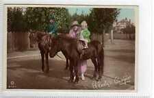 (Lz253-395) Real Photo of GLADYS COOPER & Kids c1920 Unused EX Rotary B173-1