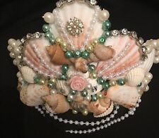 Little Mermaid, Ariel Inspired Tiara, Crown, Mermaid Fancy Dress,shell Headpiece