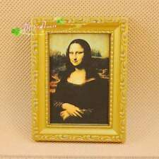1:12 dollhouse accessories  Mona Lisa mural series