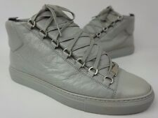 Balenciaga Arena Men's Sneakers Grey High Top Trainers Shoes Size 42 EU/ 9 US