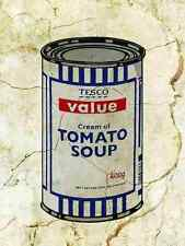 Banksy Tesco Soup Wall A4 10x8 Photo Print Poster