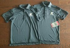 Lot of 2 Tru-Spec Womens Short Sleeve Performance Polo Shirt XS with Embr. Logo