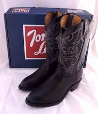 TONY LAMA 7926 Black El Paso Cowboy Boot Men Size 9 EE (US) RETAIL $225 USA MADE