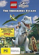 The LEGO Jurassic World - Indominus Escape (DVD, 2016) (Region 4) Aussie Release