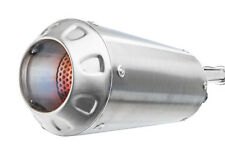 S.S. MGP Growler Growler Slip On Exhaust Muffler for 13-15 Honda CBR500R Apps.