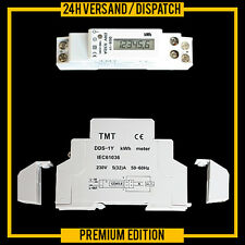 LCD WECHSELSTROMZÄHLER STROMZÄHLER DIGITALANZEIGE HUTSCHIENE WATTMETER ZW3