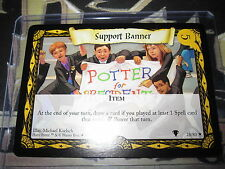 HARRY POTTER TCG QUIDDITCH CUP SUPPORT BANNER 28/80 RARE ENGLISH MINT