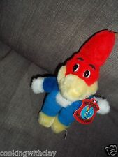VINTAGE ACE WOODY WOODPECKER PLUSH DOLL FIGURE 1985 WALTER LANTZ CHARACTER TOY