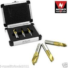 3pc SPOT WELD CUTTER HIGH SPEED COBALT DRILL BIT SET