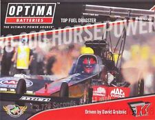 2014 David Grubnic Optima Batteries Top Fuel NHRA postcard