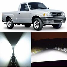 Alla Lighting Headlight 9007 High Low Beam LED Bulbs for Mazda B2300 B4000 B2500