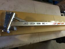 Polaris Super Sport Snowmobile Silver trailing arm EDGE left side new w / decal