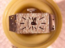 Longines 510 Caliber Watch Movement 17J Runs, Parts or Repair Font (FHF) 59