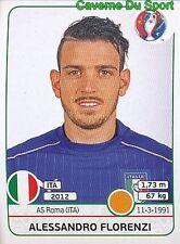 503 ALESSANDRO FLORENZI ITALIA AS.ROMA STICKER EURO 2016 PANINI