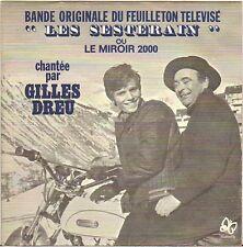 """FRANCOIS DE ROUBAIX / G. DREU """"LES SESTERAIN"""" 70'S SP POCHETTE MOTO !"""