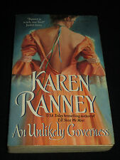 msm* SALE : KAREN RANNEY ~  AN UNLIKELY GOVERNESS