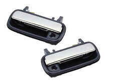 1990-1995 Toyota 4Runner/Toyota Pickup Left Front Outer Door Handle Pair Chrome