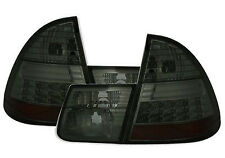 ALL SMOKED LED REAR TAIL LIGHTS BMW E46 1998-2005 STATION WAGON ESTATE TOURING