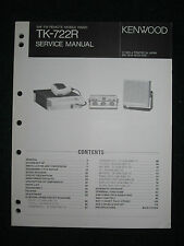 Kenwood TK-722R Service Repair Manual VHF FM Remote Mobile Radio TK 722R