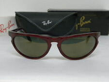 New Vintage B&L Ray Ban Sidestreet Skyline Red Gold Fleck Mirror W2353 Predator
