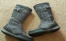 Ladies Merrell grey leather boots size 4.5 new waterproof