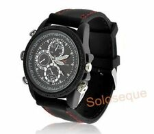 RELOJ CAMARA ESPIA OCULTA 8GB MICROFONO WATCH CAMERA SPY USB VIDEO FOTOS HD HQ