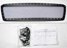 Toyota Tundra 2010-2013 Black Wire Mesh Rivet Stud Grill Insert w/ Hardware
