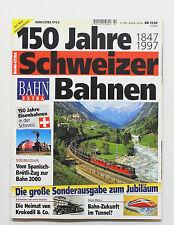 Bahn-Extra 2/97 - 150 Jahre Schweizer Bahnen