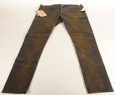 RRL Ralph Lauren Brown Lambskin Leather Pants Size Sz 28 29x32.5 Nwt $1400 D3A