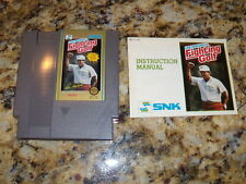 ***LEE TREVINO'S FIGHTING GOLF NES NINTENDO GAME COSMETIC WEAR~~~