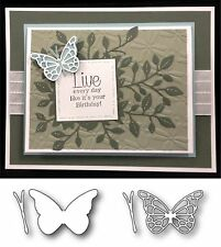 Butterfly Dies COMBO RHONE & EFFERA die cut set MEMORY BOX All Occasion,insects