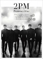 New 2PM Promise I'll be Japanese ver First Limited Edition CD DVD Photobook Card
