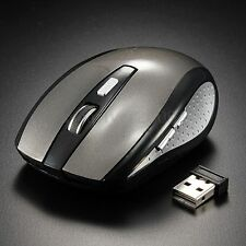 2.4 GHz USB Funk Maus Wireless Kabellos Mouse Funkmaus NANO Receiver PC Notebook