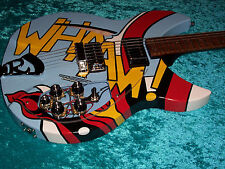 Whaam Rickenbacker 330 guitar Paul Weller Roy Lichtenstein Gibson vintage jam