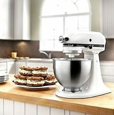 KitchenAid KSM75WH Classic Plus Stand Mixer White -- BRAND NEW UNOPENED