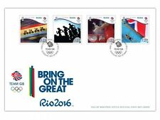 Team GB Rio 2016 Olympics First Day Cover (UI91)
