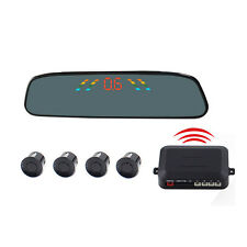 PZ306-W Wireless Car Parking Reverse Rearview Radar Alert Alarm System 4 Sensors