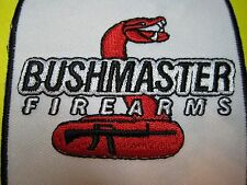 BUSHMASTER FIREARMS VEST PATCH 3 X 3 INCH SEW ON GUN PATCH*