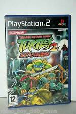 TEENAGE MUTANT NINJA TURTLES 2 BATTLE NEXUS GIOCO USATO SONY PS2 ED ITA 35604