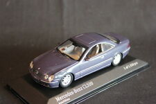 Minichamps Mercedes-Benz CL 500 1999 1:43 Blue Metallic (JS)