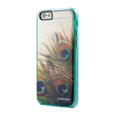 "Prodigee Show Peacock Clear iPhone 6 6s 4.7"" Clear 2 Piece Case Slim Thin Cover"