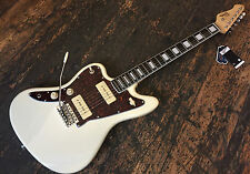 Gaucher Revelation RJT60 Jazzmaster guitare électrique blanc vintage set up