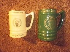 VINTAGE Gilt Green CANISIUS COLLEGE NY 35TH CLASS REUNION mug by Bunting