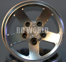 RC 1/10 Scale Truck Rims Wheel 1.9 ROCK CRAWLER BEADLOCK CNC Metal Aluminum