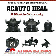 Engine Motor & Trans Mount 6Pcs For 2003-2008 Honda Accord 3.0L Acura TL 3.2L