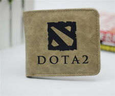 DOTA2 leather bifold Wallet men&women student Short purse free shipping