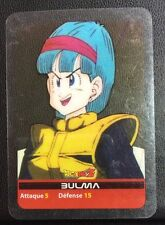 DRAGONBALL Z Lamincards n° 69 BULMA carte occasion Dragon Ball