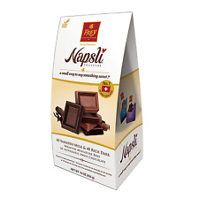 Frey Napsli Smooth Milk Chocolate and Rich Dark Chocolate Miniature Bars 16 oz.